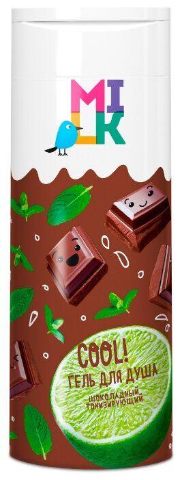 Гель для душа Милк Натур 400мл Шоколад Тонизирующий /8/ 35815