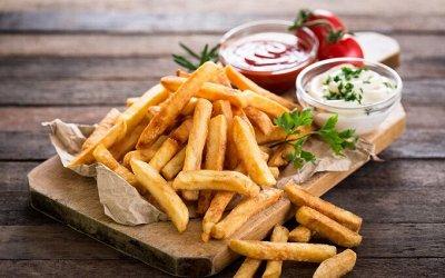 Все для вкусного ужина — Картофель фри — Для фритюра
