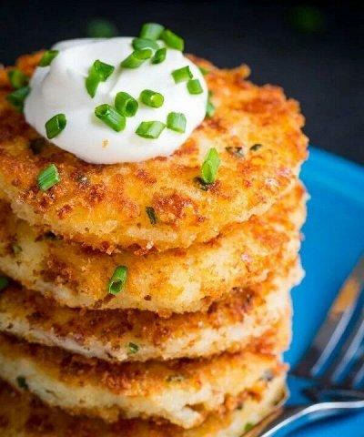 Все для вкусного ужина — Изделия из тертого картофеля — Для фритюра