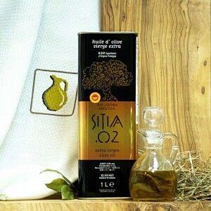 Оливковое масло P.D.O. Sitia 02, о.Крит, жест.банка, 1л