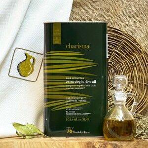 Оливковое масло Charisma, Восточный Крит, Греция, жест.банка, 3л