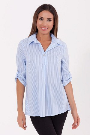 Блузка (VISERDI) Голубой