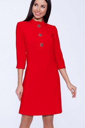Платье (OleGra) Красный