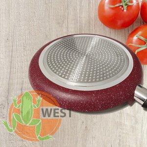 Сковорода для пиццы с каменным покрытием Olina Granite 28 см