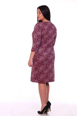 Платье теплое Бордо