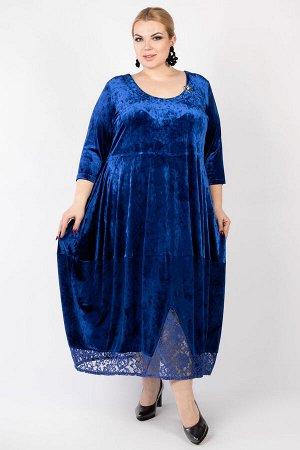 Платье PP30611BLU08