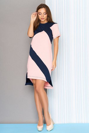"""Платье """"L-562"""" (розовый)"""