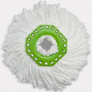 Насадка из микроволокна для швабры aquamatic turbo белая