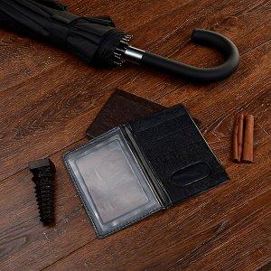 PAVO Обложка для паспорта с окном, ПВХ, 10х14см, 2-3 цвета