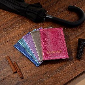 PAVO Обложка для паспорта, ПВХ, 10х14см