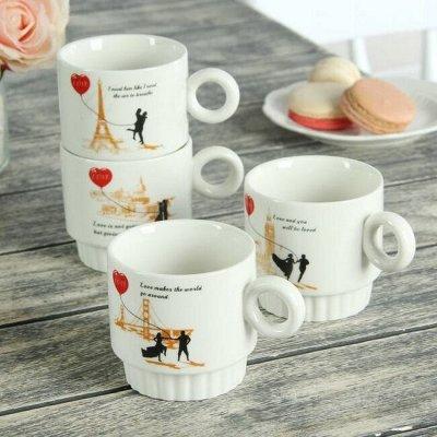 Подарочные наборы для рыбаков, охотников и не только. — Чайные пары и сервизы — Кружки и стаканы