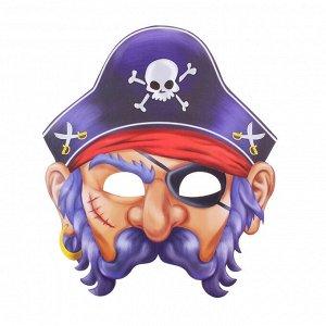 "603048 Маска бумажная ""Пират"""