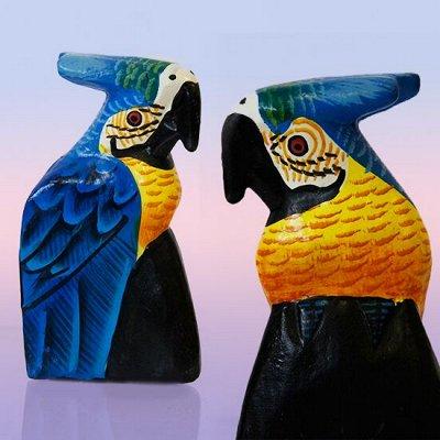 Подарочные наборы для рыбаков, охотников и не только. — Фигурки и статуэтки из дерева (Индонезия) — Сувениры