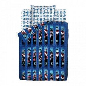 Комплект постельного белья Мстители - Avengers 1,5 сп.