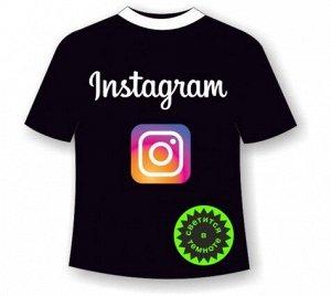 Подростковая футболка Инстаграм (Instagram)