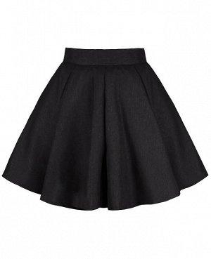 Серая юбка для девочки Цвет: т.серый