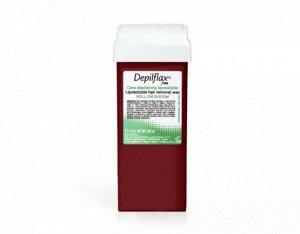 Воск в картридже,110 гр.,цвет Вино, Depilflax