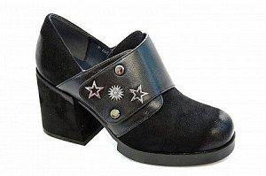 Туфли D6683-1 черн