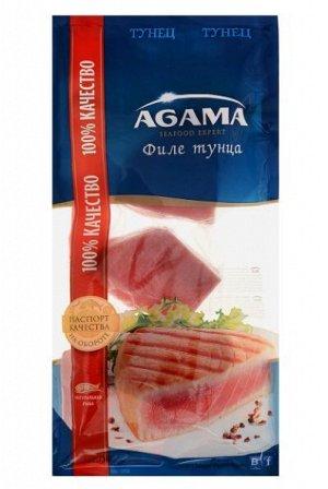 Тунец филе-кусок б/к, Агама, 400 г