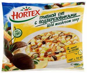 Суп грибной с подберезовиками, Хортекс, 400 г