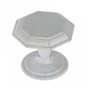 Ручка кнопка PK034CP, цвет хром