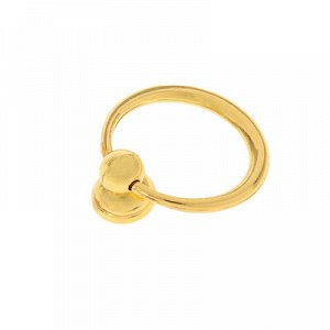 Ручка кнопка РК109, цвет золото