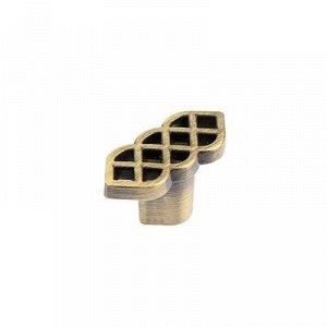 Ручка-кнопка RK-099, атласная бронза