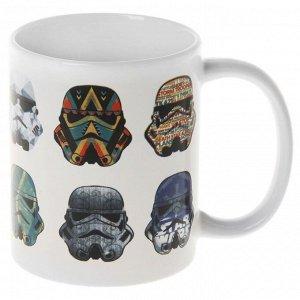 Кружка «Звёздные Войны. Стилизованные шлемы», 350 мл