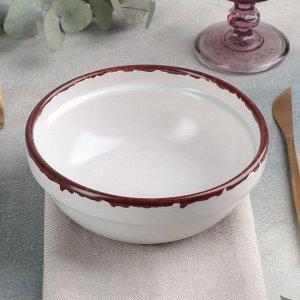 Тарелка «Antica perla», 600 мл, d=15,5 см