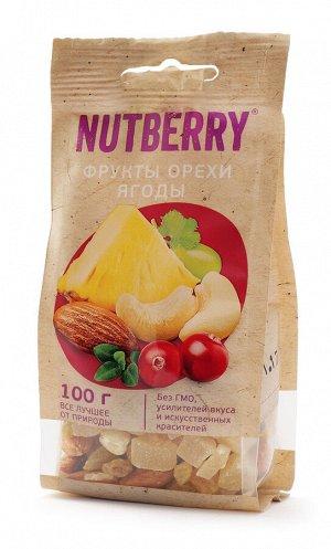 NUTBERRY Смесь Орехи и Фрукты 100 гр