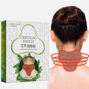 Clothes Of Skin, Пластырь согревающий с полынью Cervical Patch, 10 шт (10*13 см)