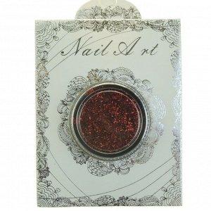 Nail Art, хлопья юки Фейерверк (цвет красный)