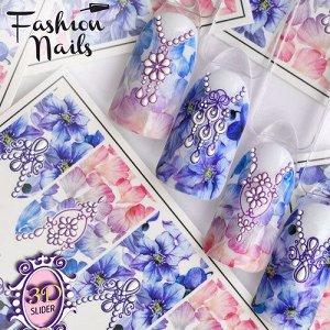Fashion Nails, Слайдер-дизайн 3D/36