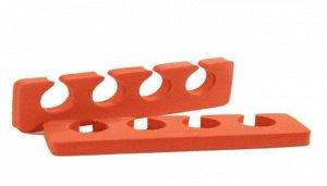 Разделители для пальцев ног (красные, 8 мм), RuNail (Арт. 1382)