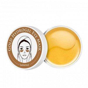 Патчи для кожи вокруг глаз с золотом Shangpree Gold Hydrogel Eye Mask, 60 шт