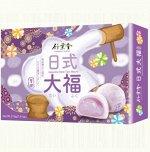 """Японское рисовое пироженое  моти """"Таро""""   6 шт  210 гр. 1/24  Тайвань"""