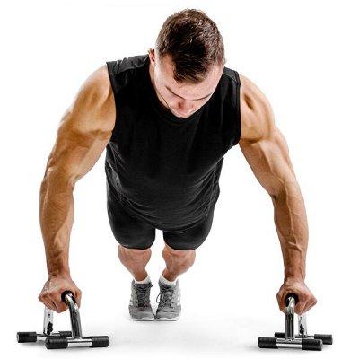 11 Спорт-это здоровье, сила, красота!Начни сейчас! — Упоры для отжиманий! — Фитнес