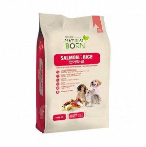 Salmon & Rice (Лосось и рис) для собак мелких пород от 3х месяцев до года, 3 кг