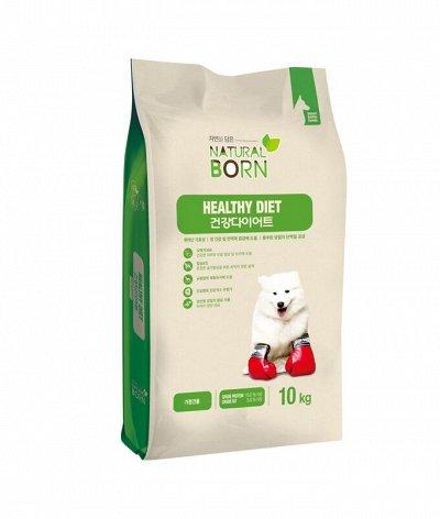 🛍МегаПристрой. Распродажа от ползунков до удобрений — Корейские корма natural born для кошек и собак — Для собак