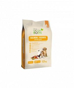 Salmon & Potato (Лосось и картофель) для собак мелких пород всех возрастов, 1,5 кг