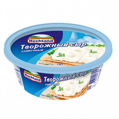 Вкусный перекус вместе с Хохланд и Campina - 5 НОВИНКИ — Хохланд творожный — Сыры