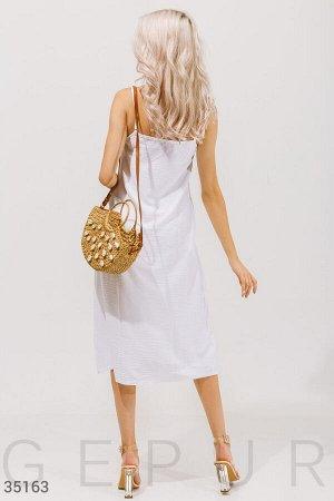Белый костюм с платьем