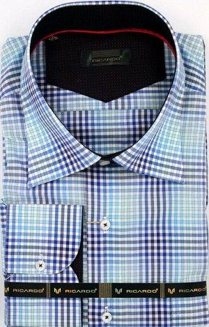 Подарок к 23 февраля!Рубашка рост 170-182 классическая длинный рукав