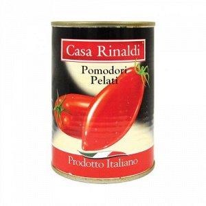 Помидоры очищенные в томатном соке Casa Rinaldi
