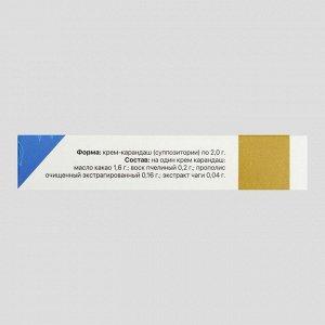 Крем-карандаш с прополисом и чагой (10 шт в упаковке)