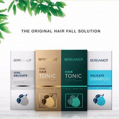 Тайский супермаркет! Мега-дешево! Мега-ассортиментище! 96 — BERGAMOT-шампуни и тоники от выпадения волос — Восстановление и увлажнение