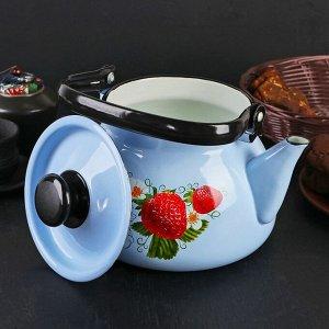 Чайник 3 л, деколь МИКС