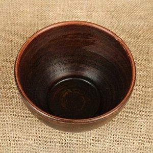 Салатник 0,6 л красная глина