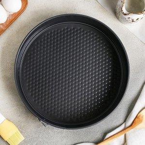 Форма для выпечки круглая, разъемная, 26х6,5 см