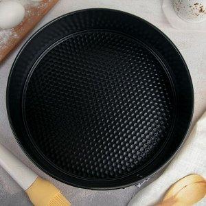 Форма для выпечки «Блэк», 26х7 см, круглая, разъёмная